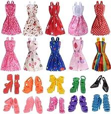 iDream Doll Accessories,Multi Color (10 Pieces)