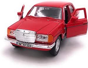 Onwomania E Klasse W123 Rot Modellauto Mit Wunschkennzeichen Auto Maßstab 1 34 Lizensiert Auto