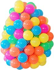 Zibuyu Eco-Friendly Colourful Soft Plastic Ocean Wave Ball Baby Toys - 50 Pieces