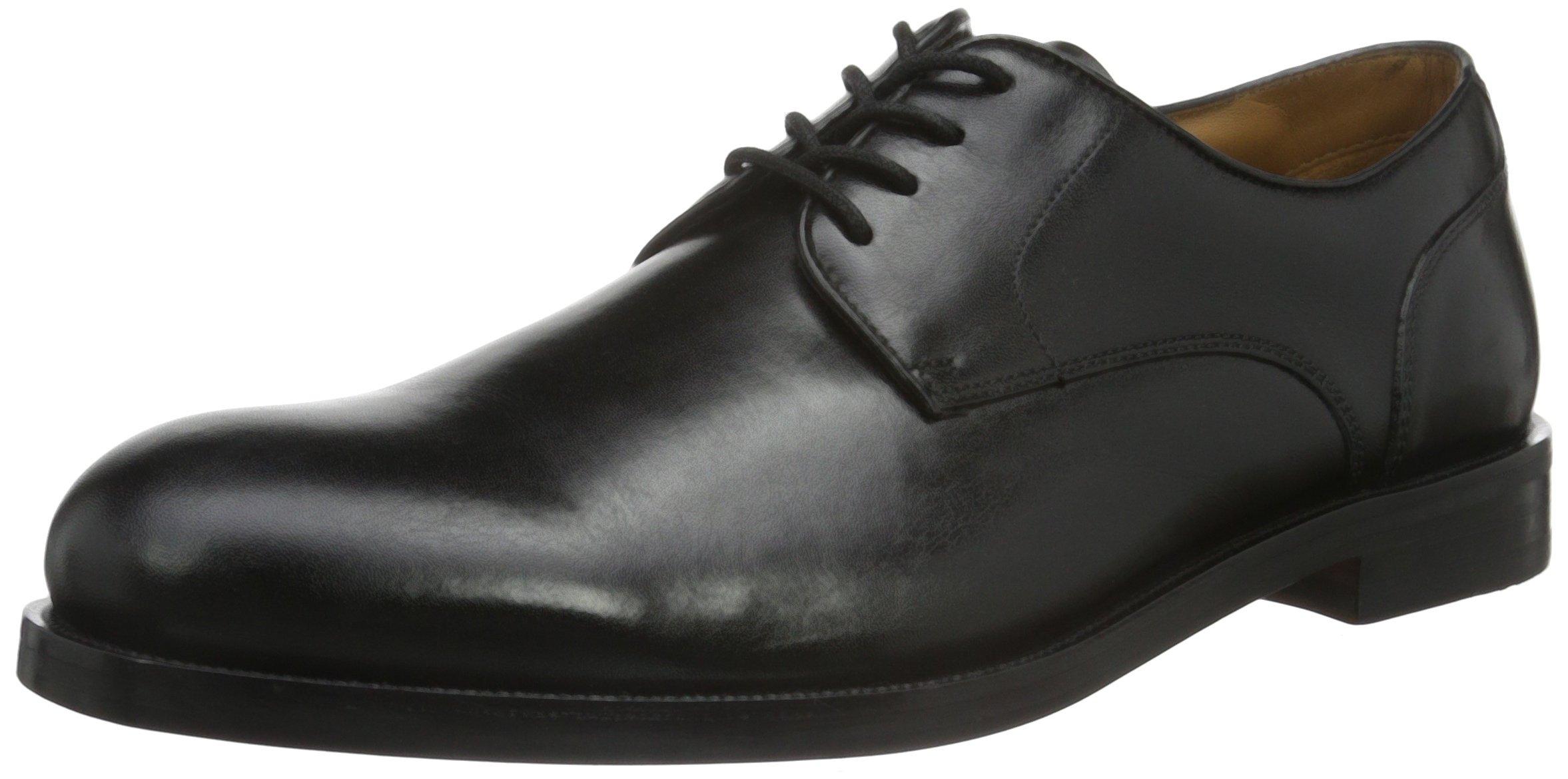(TG. 41 EU) Clarks Originals Coling Walk, Scarpe Stringate Uomo, Nero (W6K) Scarpe classiche da uomo