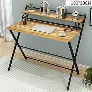 casa scrivania//scrivania del Computer Una Semplice Tabella Congresso//tavola Formazione ZWJLIZI Tavolo Pieghevole Size : 80X40X75CM casa Multifunzionale scrivania Portatile