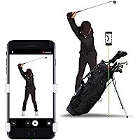 SelfieGOLF Record Golf Swing - Supporto Clip per telefoni cellulari e aiuti alla Formazione - Accessori per Il Golf…