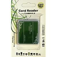 Saving Basket All in 1 Multi Slots SD Mini SDHC MS MIRO M2 TF MMC Multi Memory Card Reader