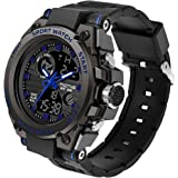 Military Watches for Men Waterproof Army Digital Watch Men's Sports Outdoor Tactical Stopwatch LED Survival Tough Electronic