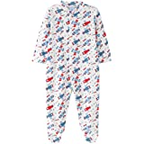 Amomí Pijama Bebé Niño y Niña, Pelele bebé para Dormir y Jugar, 100% Algodón, 0 - 24 Meses, Varios Pack, Manga Larga