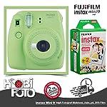 Fujifilm instax Mini 9 +20'li Film+Askı (yeşil)