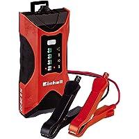 Einhell Chargeur de batterie CC-BC 2 M (Alimentation : 220-240 V 50 Hz, Tension de charge : 6 V/ 12V, Pour batteries de…