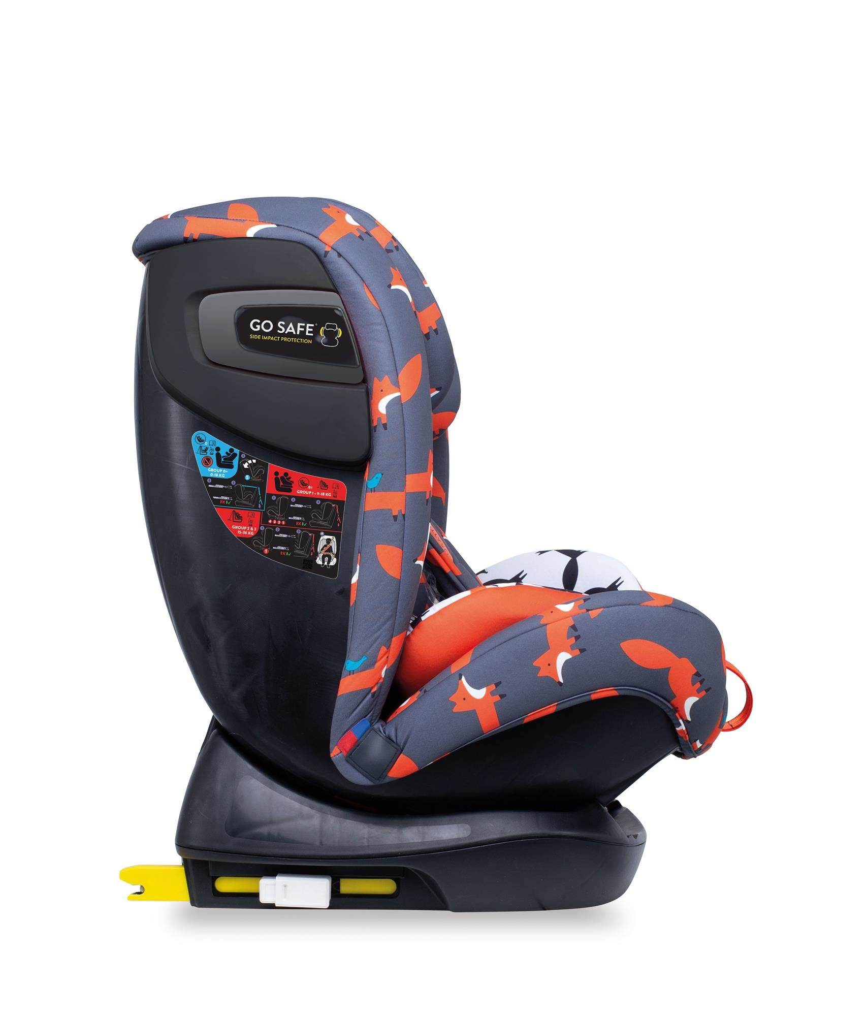 Cosatto CT4241 All in All + Group 0+123 Car Seat Mister Fox 8.9 kg Cosatto Extended rear facing Suitable for all stages Extra security 4