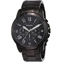 Fossil Chronograph Black Men Watch FS4832