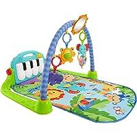Fisher-Price- Palestrina Baby Piano 4-in-1 Verde/Blu con Pianoforte, Tappetino con Giocattoli, per Neonati 0+Mesi, HBB73…