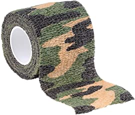 Formulaone Elastische Camouflage Wasserdichte Outdoor Jagd Camping Stealth Camo Wrap Band Military Airsoft Paintball Stretch Verband