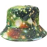 By Neki 100% algodón adultos cubo sombrero verano pesca pescador playa Festival sol Cap Reino Unido