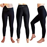 Sport Leggings Damen, Kompression Leggings für Yoga, Fitness, Gym, Laufen, Gymnastik, Pilates, mit Handytasche 6,7 Zoll, Premium Qualität