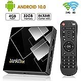 Android TV Box 10.0 NinkBox N1 Plus TV Box Android 4G RAM 32G ROM, RK3318 Quad-Core 64bit Cortex-A53, Smart Box TV…