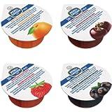 Menz&Gasser Confettura Extra Assortita Albicocca, Ciliegia, Fragola e Pesca, con Frutta di Alta Qualità, 100 porzioni x…
