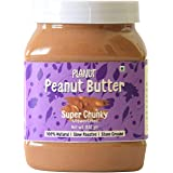 Planut Chemical Free Peanut Butter, Super Chunky, Unsweetened, 830g | All-natural, High Protein
