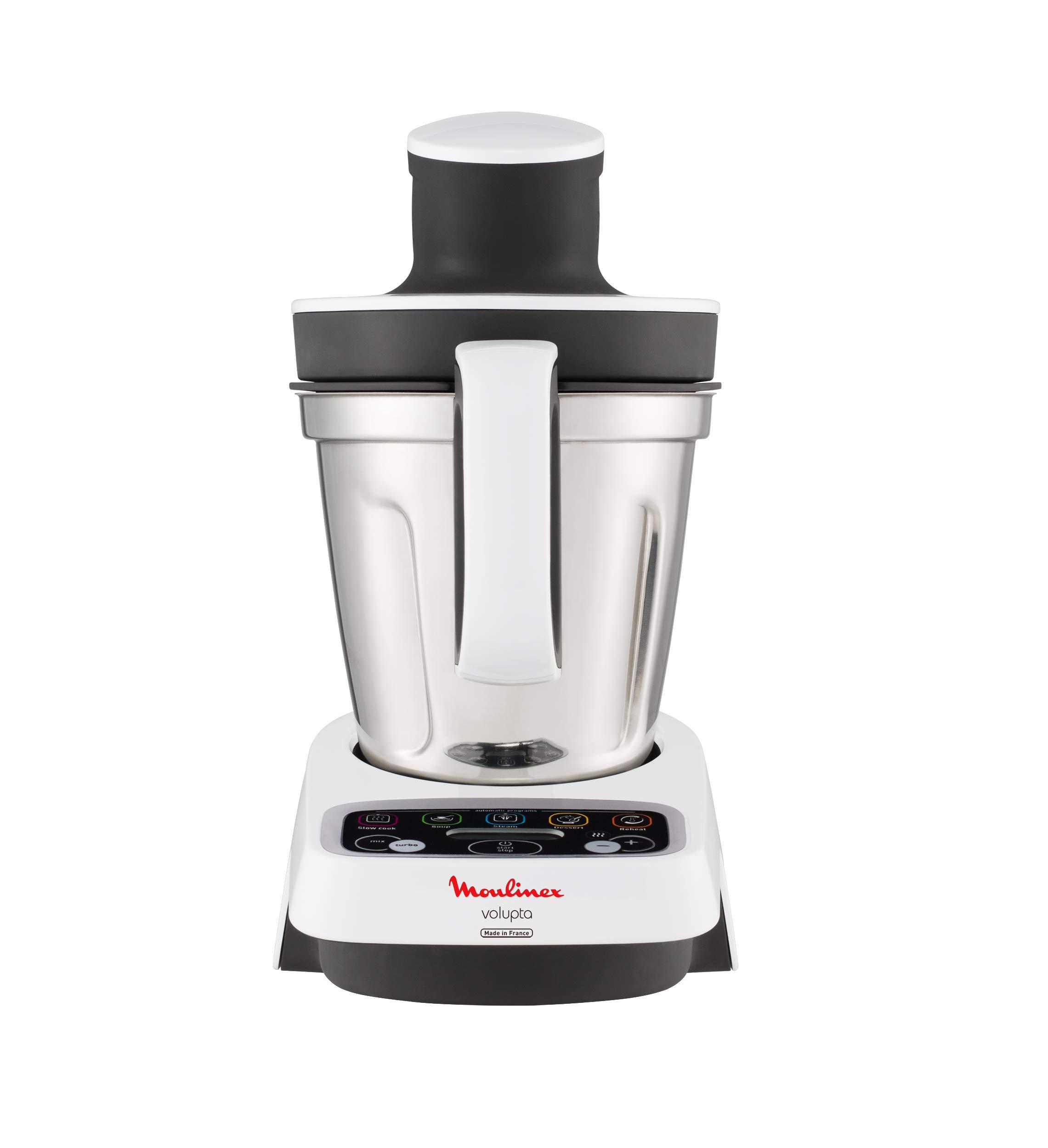 Moulinex-HF4041-Volupta-Multifunktionskchenmaschine-1000-Watt-15-l-Nutzkapazitt-weiDunkelgrau
