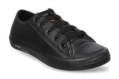 Tennis Black Casual Shoes (ET-11