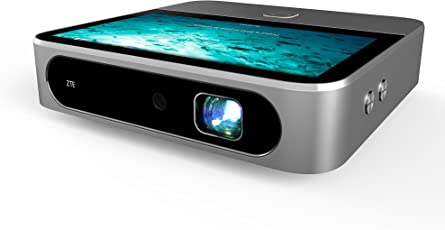 ZTE Spro 2 MS97E 4G LTE Android Smart LED Projector with in-Built Wi-Fi and Speaker (Silver)