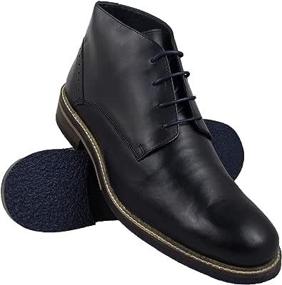 Zerimar Stiefel Herren Leder | Klassische Stiefelette Herren