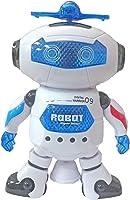 Popsugar Robot Top-Dance Digital Warrior 09 with Flashing Lights and Music (White,THRBFX2865)