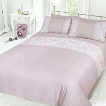 pieridae lace mint duvet cover u0026 pillowcase set bedding digital print quilt case single double king bedding bedroom daybed king amazoncouk kitchen u0026