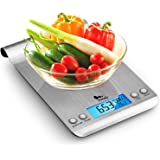 Himaly Bilancia da Cucina, 5Kg/1g Bilancia Elettronica Digitale Alta Precisione Misurazione Display LCD Multifunzione da Cuci