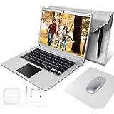 NBD 14 Pouces Ordinateur Portable,Windows 10 Netbook,14,1'' 1080P Full HD IPS Laptop ,Intel Celeron N3350 4 Go RAM 64 Go Stoc