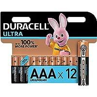 Duracell Ultra, pack de 12 piles alcalines Type AAA 1,5 Volts LR03 MN2400