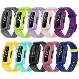 Chofit Vervangende bandjes compatibel met Fitbit Ace 3/Inspire 2 riem, zachte siliconen sport flexibele polsbandjes armband v