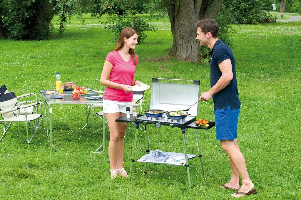 Campingaz, Grill and Stand Camping Stove, compact outdoor gas cooker 2