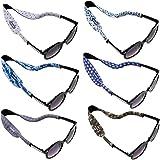6 قطع من نظارات النيوبرين للأطفال من Ava & Kings حامل للرقبة حزام مضاد للانزلاق رياضي