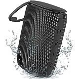 Enceinte Bluetooth Portable, Sewowibo Haut-Parleur Bluetooth sans Fil Étanche IPX7 avec Basses Riches HD Stéréo Sound, 15H de