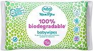 Mum & You Toallitas Húmedas Para Bebés 100% Biodegradables, Paquete De 12, (672 Toallitas En Total). 98% De Agua, 0% De Plást