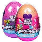 HATCHIMALS 6047125 CollEGGtibles, Secret Surprise Playset with 3 HATCHIMALS (Styles May Vary), Multicolour