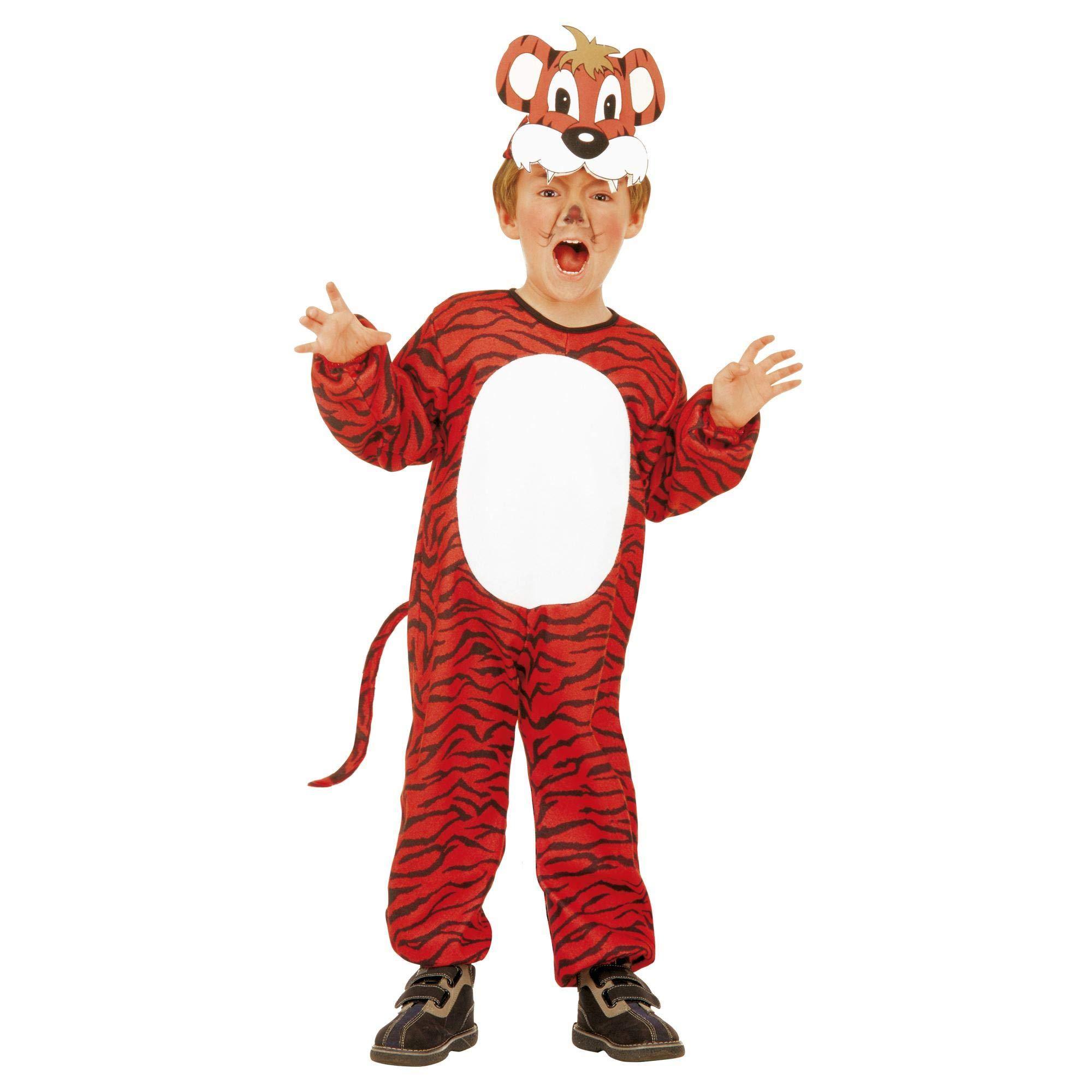 WIDMANN Tigri 36628 – Disfraz para niños, multicolor, 104 cm / 2 – 3 años