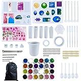 Siliconen hars mallen voor sieraden maken, Epoxy hars mallen, Sieraden gieten mallen, Hars Mould Kit, Hars hanger Molds, voor