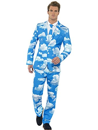 Mens Sky High Stand Out Cloud Suit - Sizes Medium Chest 38 - 40in ...