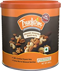 Truefarm Foods Organic Roasted Mixed Nuts, 300g