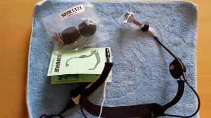 Shure WH20 x LR – WH-20 XLR Dynamico Kopfbügelmikrofon: Amazon.de ...