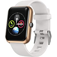 Septoui Montre Connectée Femmes Homme Smartwatch IP68 Ecran Tactile 1,3' Montre Intelligente Sport Podomètre…