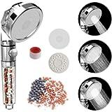 Rovtop Soffione Doccia Anticalcare Alta Pressione - Universale 3 Mode Soffione Per Doccia,55% di risparmio idrico,Filtro…