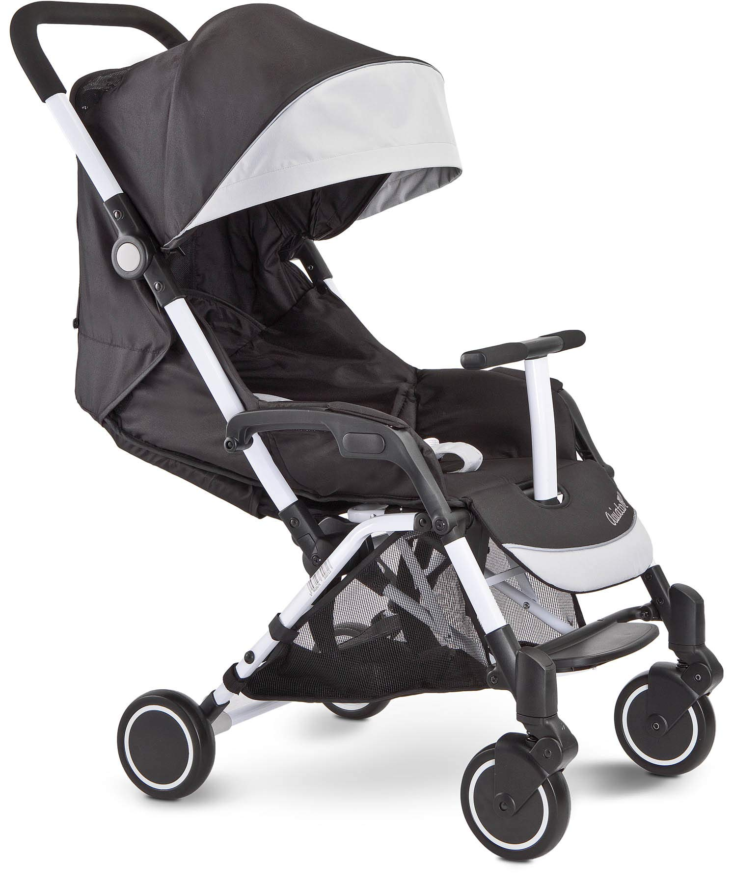 Aviator Ultralight Pushchair Grey Caretero Stroller for babies from 6 months Month weighing up to 15 kg Compact size and light weight (7.1kg) for easy manoeuvring and transport Eva foam wheels front with cushioning for driving comfort 3