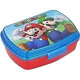   Super Mario   Sandwichera Para Niños Decorada - Fiambrera Infantil   Caja Para El Almuerzo Y Porta Merienda Para Colegio -