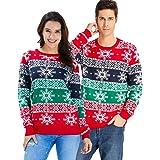 Goodstoworld Unisex Strickpullover Ugly Christmas Sweater Neuheit Dinosaurier Faultier Katze Strickmuster Weihnachtspullover S-XXL