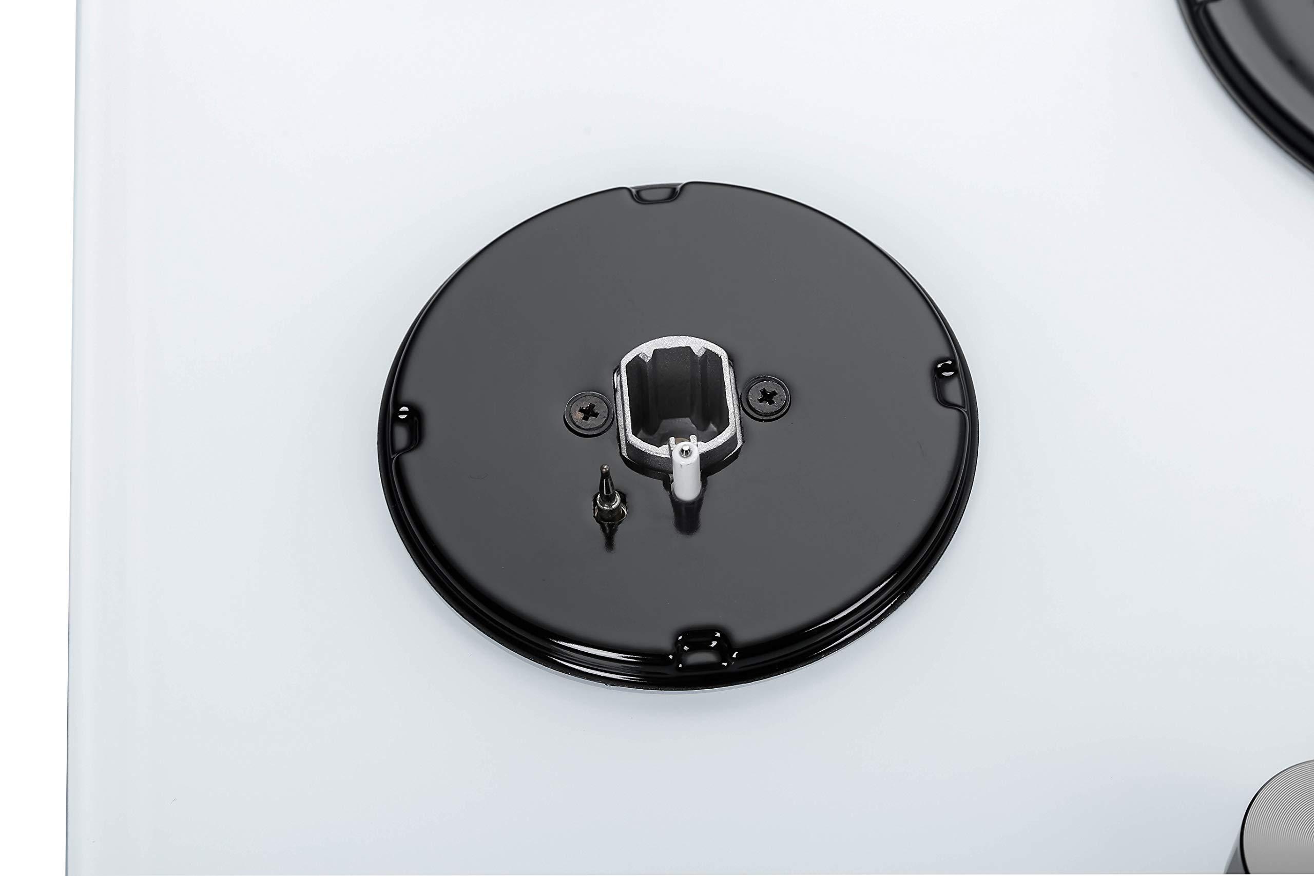 71GpWuYtbgL - Millar GH7051PW Tempered Glass Hob With 5Gas Burners 70 Cm, White