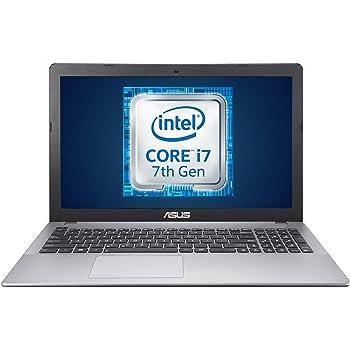 """Asus K550VX-DM407T Notebook, Schermo da 15.6"""" Full HD, Intel Core i7-7700HQ, RAM da 16 GB, Hard Disk da 2 TB, Scheda Grafica NVIDIA GeForce GTX 950M da 2 GB, Grigio"""