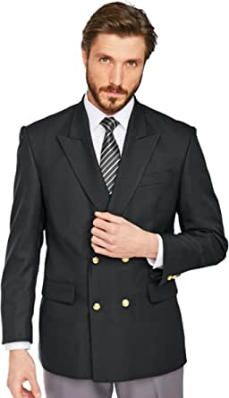 Mens Chums Double Breasted Oxford Blazer