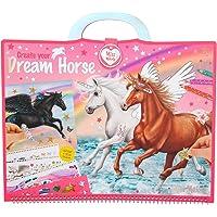 Depesche Livre de coloriage Miss Melody 10898 - Create Your Dream Horse - env. 30,5 x 33 x 1,5 cm