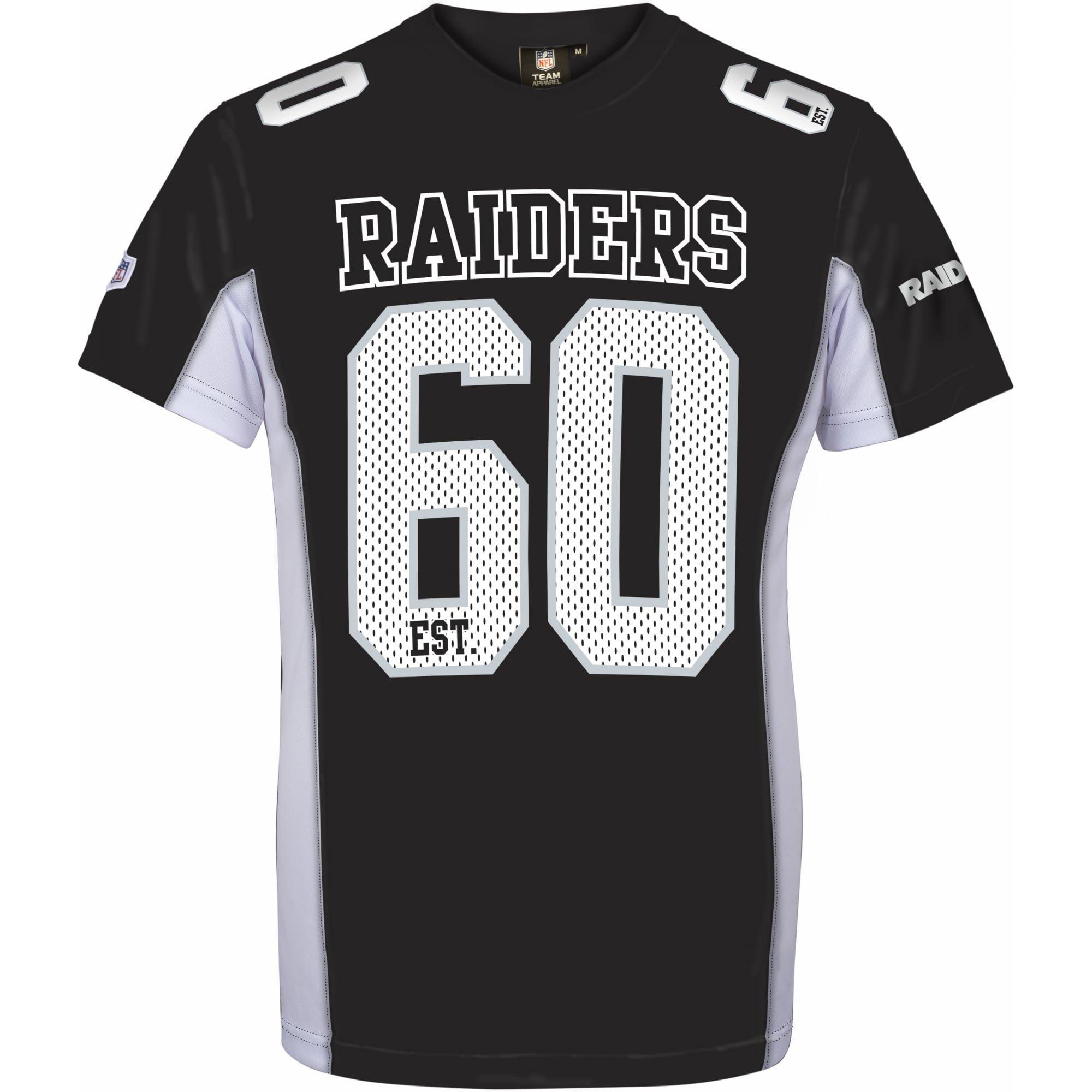 ad6df22eb Majestic NFL OAKLAND RAIDERS Moro Mesh Jersey T-Shirt – Just Sports UK